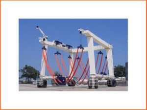 600 Ton Marine Travel lifts