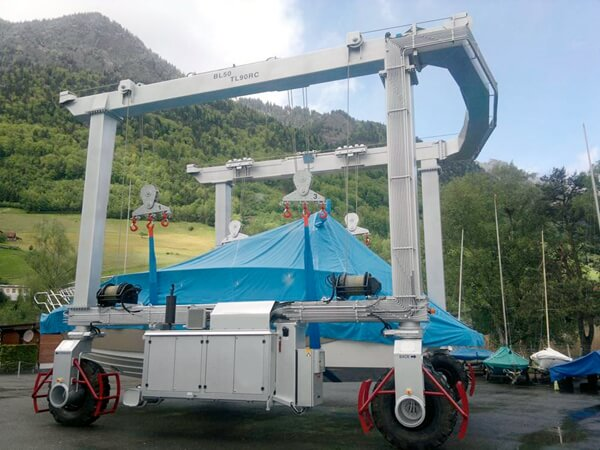 Boat Lift Storage Of Mraine Lifts