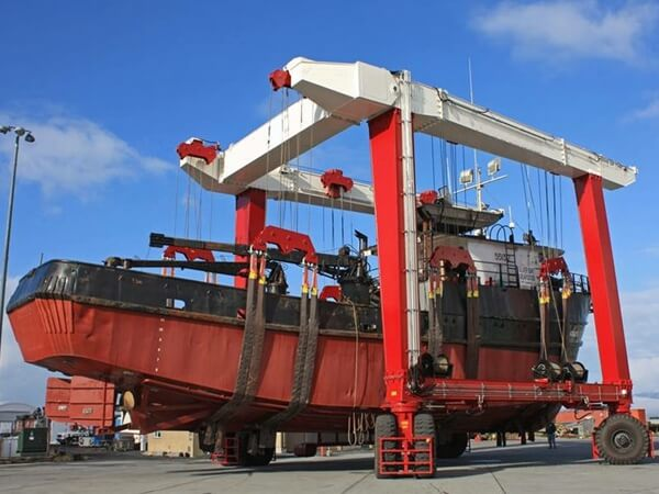 Reliable And Professional Marine Travel Lift Manufacturers