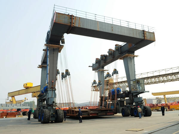 100 Ton Marine Travel Lifts