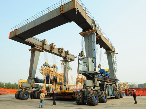 400 Ton Marine Travel Hoists