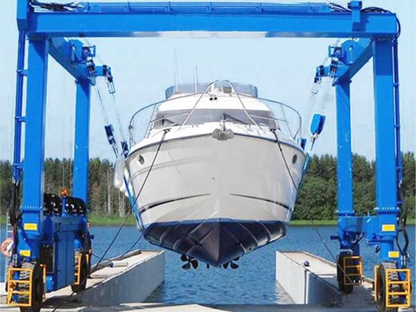 Flexible Boat Hoist Crane