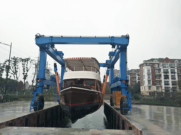 50 Ton Travel Lift for Boat